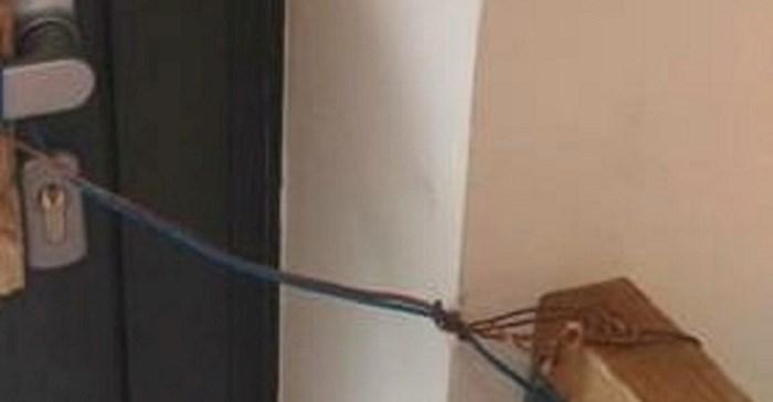 Ovaj Dalmatinac ima jedinstvenu zaštitu od lopova. Ma tko bi ovo provalio?
