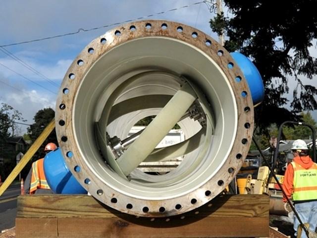 U Portlandu, neke vodovodne cijevi su zamijenjene cijevima s turbinama koje proizvode električnu energiju