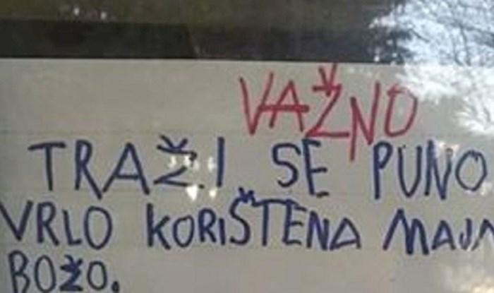 Simpatična poruka djece iz vrtića raznježila Splićane