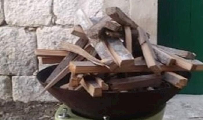 Ovo mogu smisliti samo Dalmatinci, pogledajte što su upotrijebili za gradele