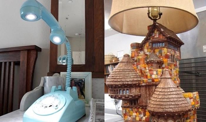 Ljudi su na buvljacima pronašli neobične lampe i lustere, evo najluđih