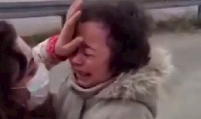 Ova medicinska djelatnica zbog korone nije vidjela kćer mjesec dana, susret će vas rasplakati