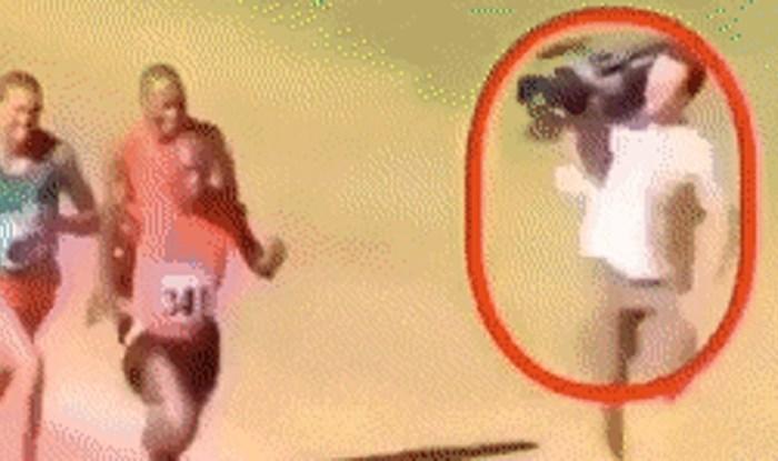 Trkači nisu mogli vjerovati što vide, ovaj snimatelj zaslužuje medalju
