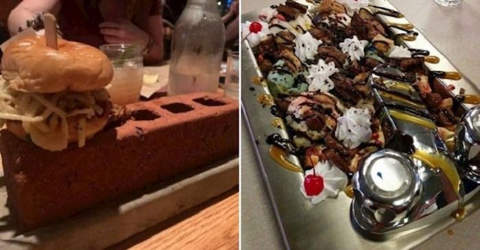 Restorani koji su htjeli biti originalni, ali su samo zbunili svoje goste čudnim serviranjem hrane