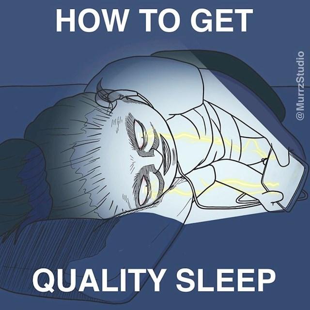 Kako se kvalitetno naspavati: