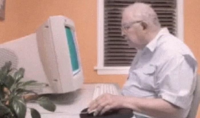 Dokaz zašto su stari ljudi i tehnologija loša kombinacija