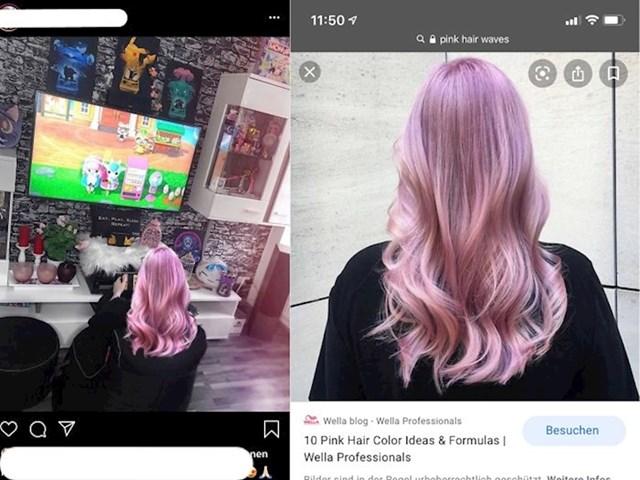 Cura koja je uzela tuđu sliku i napisala da je to njena nova frizura...