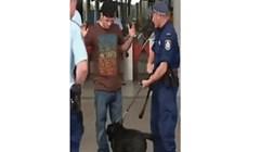 Policijski pas ga je počeo njušiti, ono što je izvukao iz hlača nasmijalo je policajce