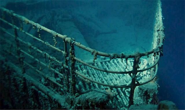 Olupina Titanica koja se vidi u filmu je stvarna