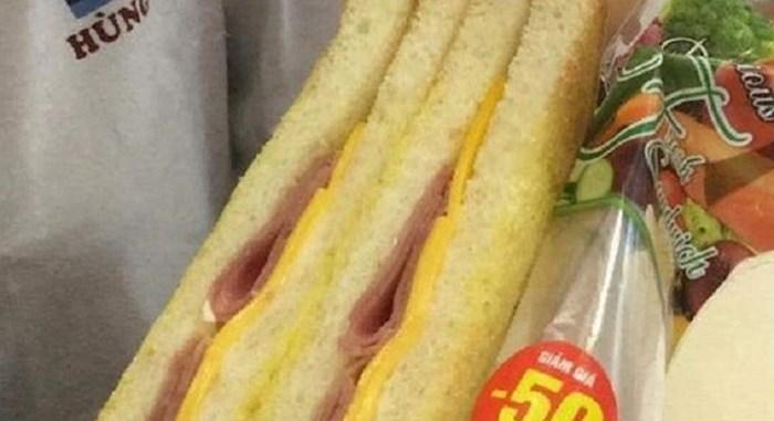 Kupila je sendvič i ostala šokirana onim što je dobila