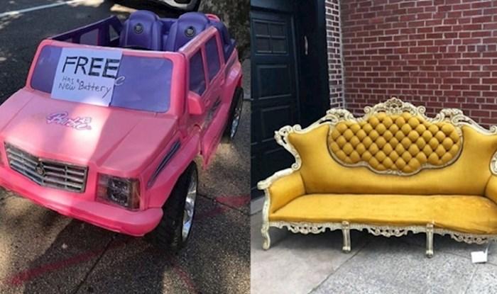 Na ovom Instagram profilu ljudi objavljuju odbačene predmete koje su pronašli na ulicama New Yorka
