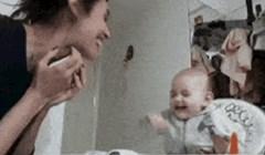 Mama i beba pričaju kao dvije frendice, ovo je preslatko