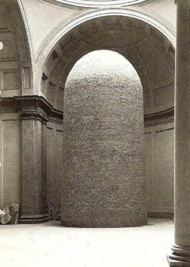 Michelangelov David zaštićen je ciglama tijekom Drugog svjetskog rata