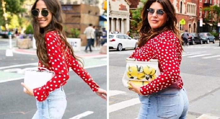 Blogerica kopira odjeću poznatih i slavnih da bi dokazala kako dobar izgled nema veze s brojkom na vagi