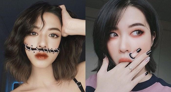 Make up umjetnica kreira nevjerojatne optičke iluzije na svom licu i tijelu