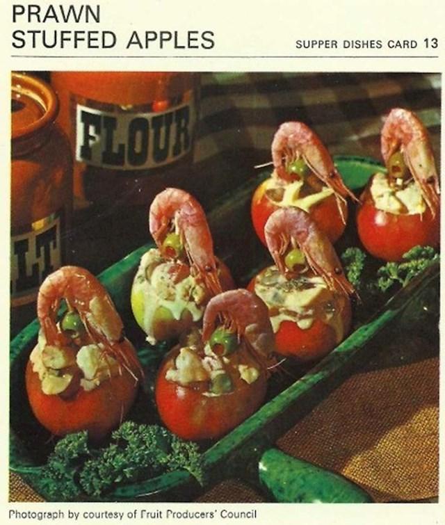 Jabuke i škampi, ma savršeno
