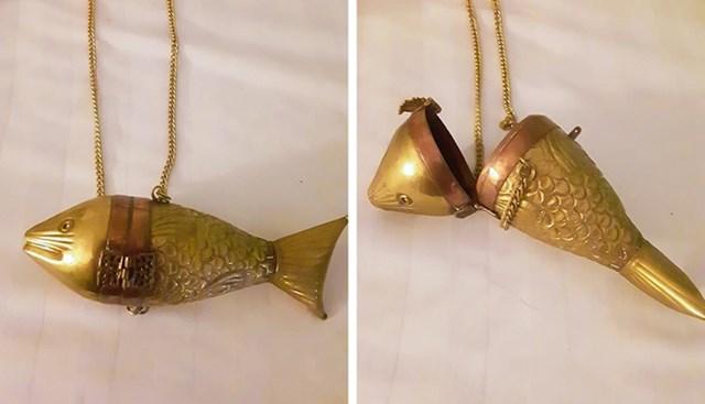 Spremnik u obliku ribe