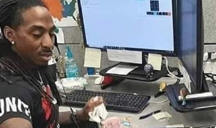"""Ovaj """"zaposlenik mjeseca"""" nije iskoristio pauzu na poslu, ali je zato nasmijao svoje kolege do suza"""