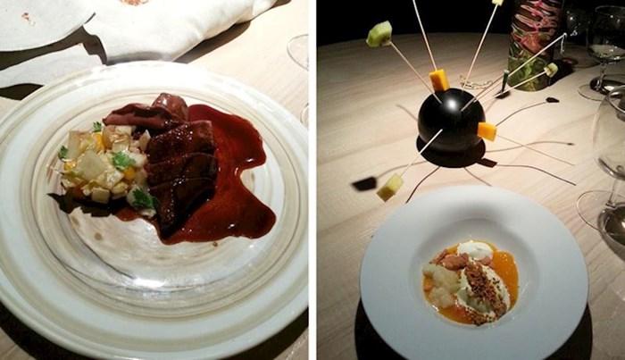 Ljudi su pokazali kako je izgledala hrana koju su naručili u restoranima s Michelin zvjezdicom