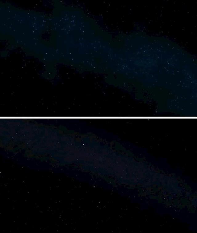 U originalnom filmu iz 1997. godine noćno nebo je krivo napravljeno. To je popravljeno 2012. godine, kod reizdavanja filma