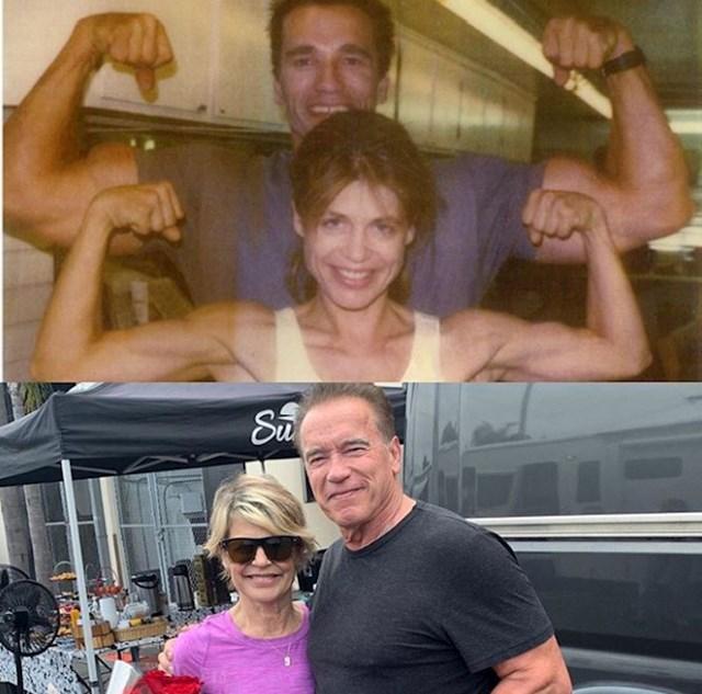 Terminator i Sarah Connor unatoč godinama ostali su u super formi :)