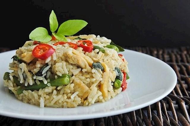 Na Tajlandu moći ćete pojesti tanjur riže s povrćem