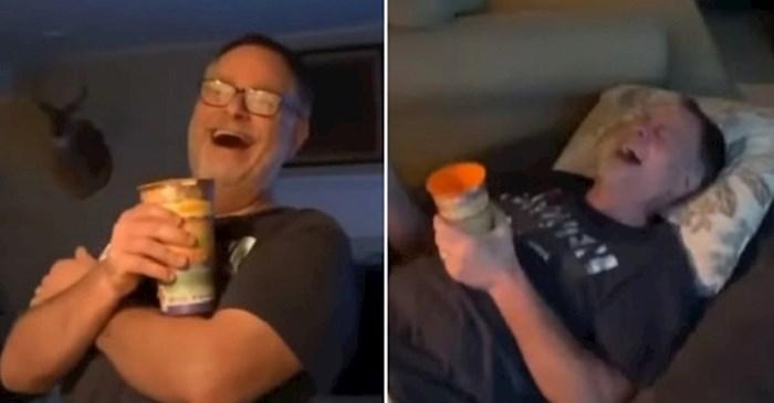 Ovaj tata se skoro upiškio od smijeha kada je ugledao sina koji se ošišao na fudbalerku