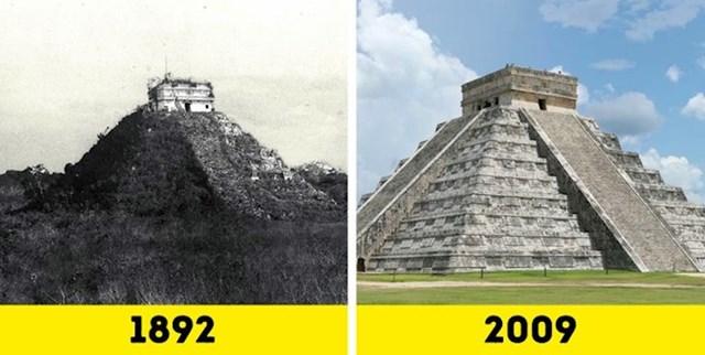 El Castillo Nekada i sada