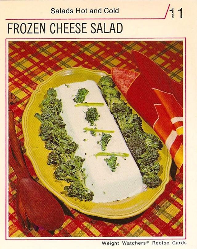 Salata od smrznutog sira?