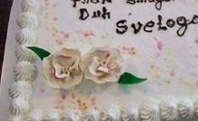 Na krštenju ove bebe jedna torta privlačila je puno pažnje, pogledajte što je nasmijalo prisutne
