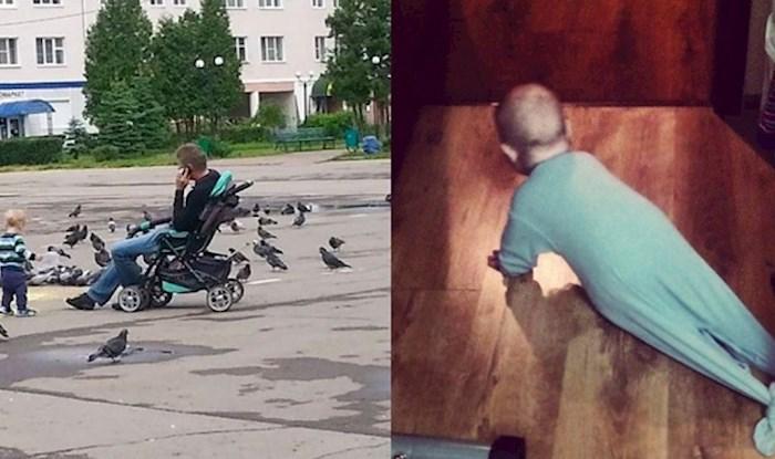 Fotke koje dokazuju da je život s djecom pun presmiješnih i neočekivanih situacija