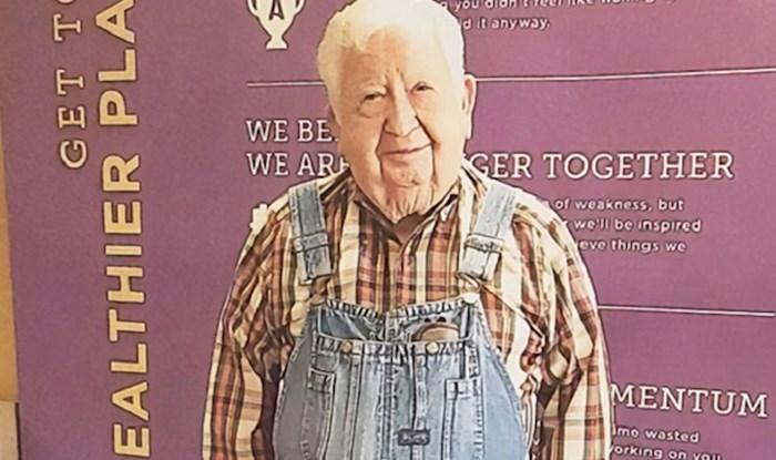 Nikad nije kasno: 91-godišnjak krenuo u teretanu i postao najčlan mjeseca