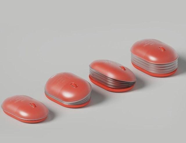 Kompjuterski miš koji se  može prilagoditi ljevacima
