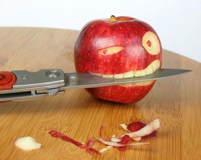 U Kanadi možete kupiti jednu organsku jabuku