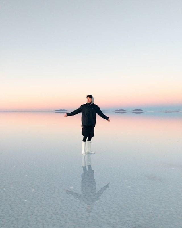 Najslanije mjesto na svijetu u Uyuni u Boliviji