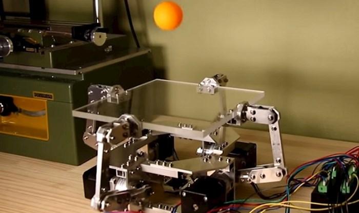 VIDEO Ovaj robot koji savršeno balansira ping pong lopticom zadivit će vas svojim sposobnostima