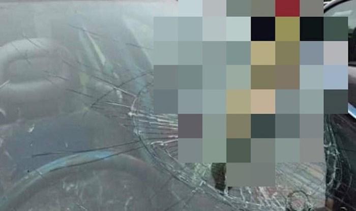 Vozio je iza teretnog kamiona, ono što mu se dogodilo teško je i prepričati