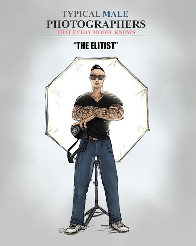 On radi samo elitne fotografije sa elitnim ljudima