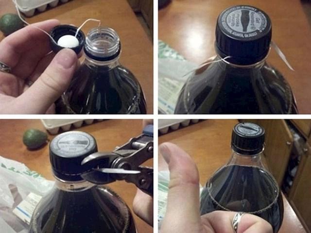Jer svi znamo što se desi kada pomiješamo Mentos bombone sa Pepsijem...