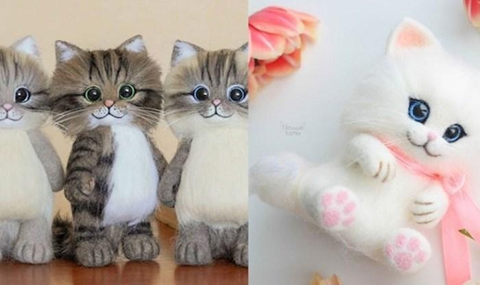 Cura iz Rusije pravi mačke od filcane vune, nevjerojatno su slatke