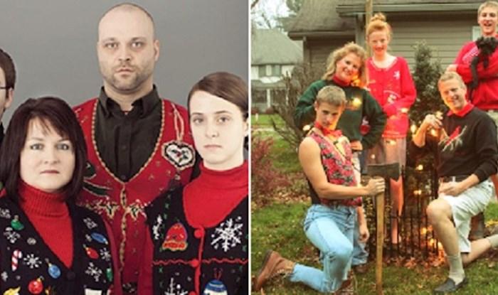 Jezive obiteljske božićne fotografije koje nisu trebale ugledati svjetlo dana