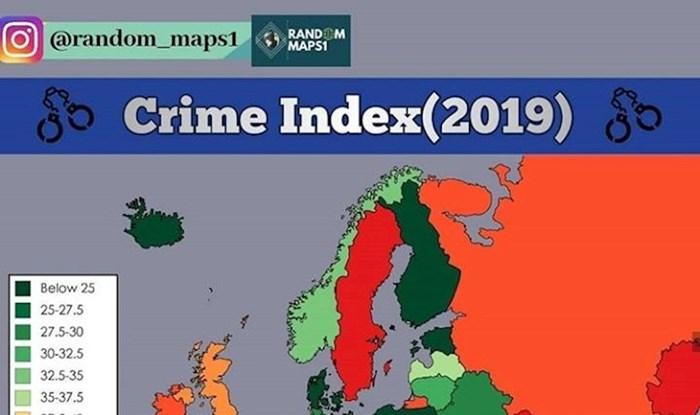Stopa kriminala u europskim državama