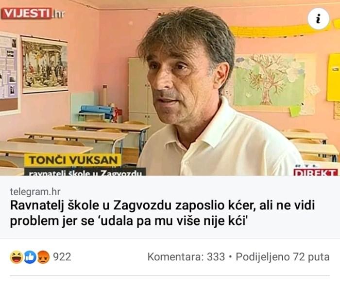 Zapošljavanje obitelji u Hrvatskoj, pogledajte što je ravnatelj izjavio