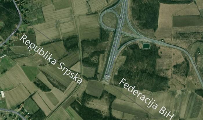 Bizarna satelitska snimka autocesta u BiH