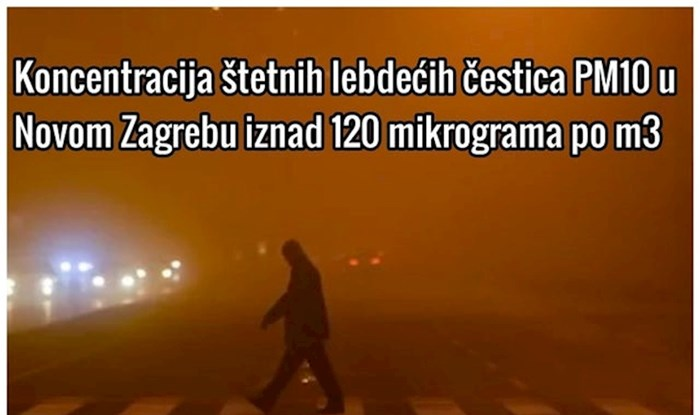 Zrak u Černob... Zagrebu*