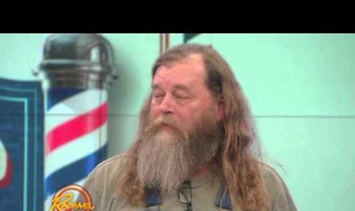 Čupavac se odlučio obrijati prvi put nakon 20 godina, izgleda kao potpuna nova osoba