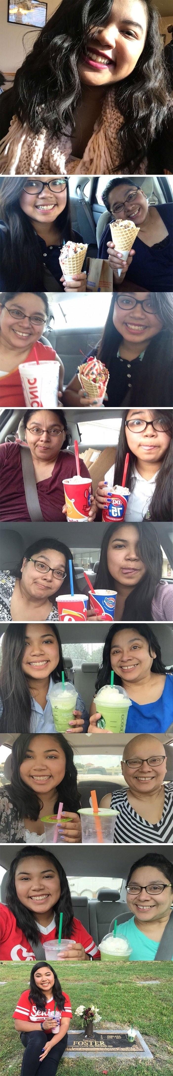 Djevojka je svake godine s majkom slikala istu sliku, posljednja fotka je svima slomila srce