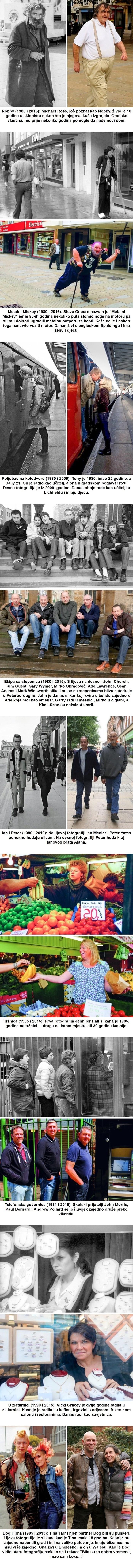 Fotograf je našao ljude koje je slikao prije više od 20 godina, primijetio je zanimljive promjene