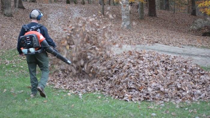 Tata je ispred kuće čistio lišće, a onda su mu djeca priredila strašno iznenađenje