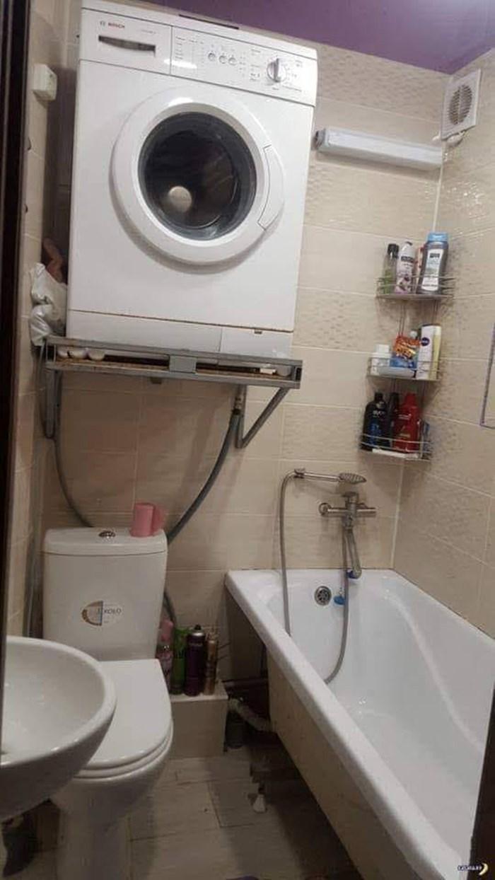 Majstor predložio čudno rješenje, stanari prihvatili savjet: Korištenje ovog WC-a poprilično je riskantno